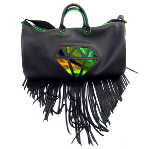DIAMOND HIPPIE CARRY-ON *BLACK*