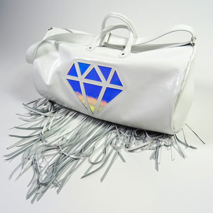 DIAMOND HIPPIE CARRY-ON *WHITE*