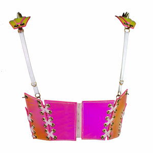 SUPER STAR BUSTIER *HOT PINK*