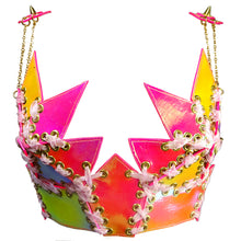 Load image into Gallery viewer, SUPER STAR BUSTIER *HOT PINK*