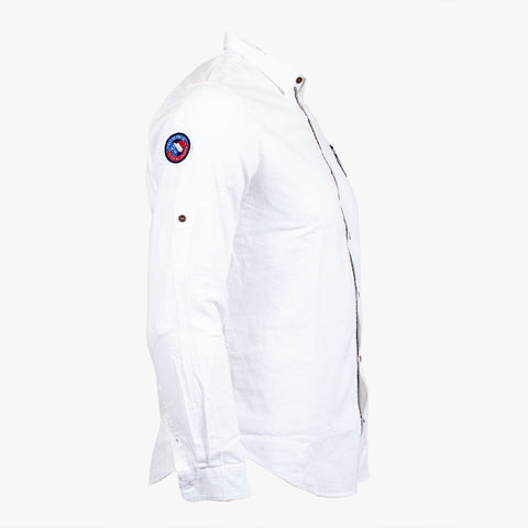 Chemise Blanche pour Marin