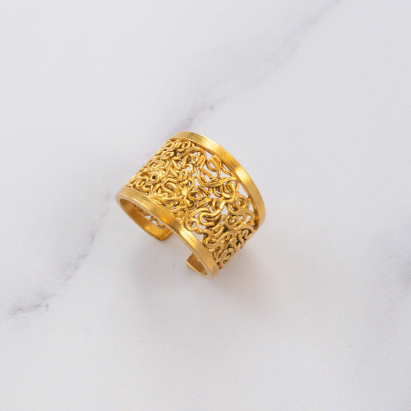 Woven Intricacy ring