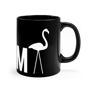 PARMA Flamingo - Black mug 11oz