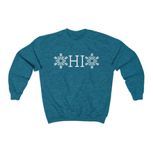 Load image into Gallery viewer, OHIO Snowflake Heavy Blend™ Crewneck Sweatshirt (Unisex)