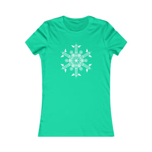 CHI FOR THE WINTER Snowflake Women's T-shirt