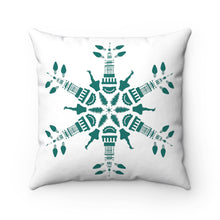 Load image into Gallery viewer, CLE FOR THE WINTER Snowflake Pillow