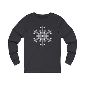 CHI FOR THE WINTER Snowflake Long-sleeve T-shirt