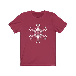 CLE FOR THE WINTER Snowflake T-shirt