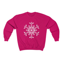 Load image into Gallery viewer, CHI FOR THE WINTER Snowflake Sweatshirt