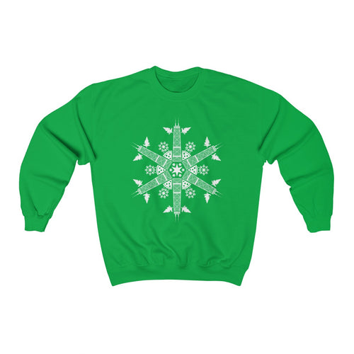 CHI FOR THE WINTER Snowflake Sweatshirt