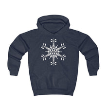 Load image into Gallery viewer, CLE FOR THE WINTER Snowflake Youth Hoodie