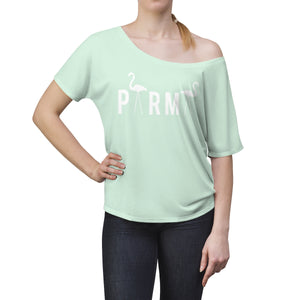 PARMA Flamingo - Women's Slouchy top