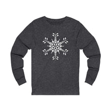 Load image into Gallery viewer, CLE FOR THE WINTER Snowflake Long-sleeve T-shirt