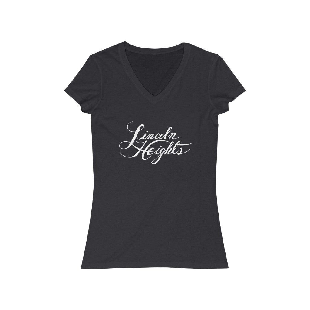 Lincoln Heights | Women's Jersey Short Sleeve V-Neck Tee
