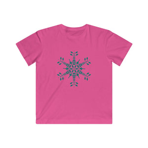 CLE FOR THE WINTER Snowflake Kids Fine Jersey Tee