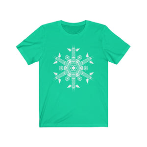 CHI FOR THE WINTER Snowflake Unisex T-shirt
