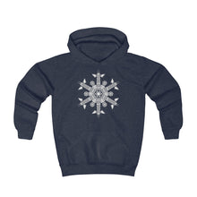 Load image into Gallery viewer, CHI FOR THE WINTER Snowflake Youth Hoodie