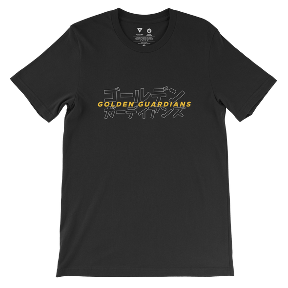 Golden Guardians Katakana Tee