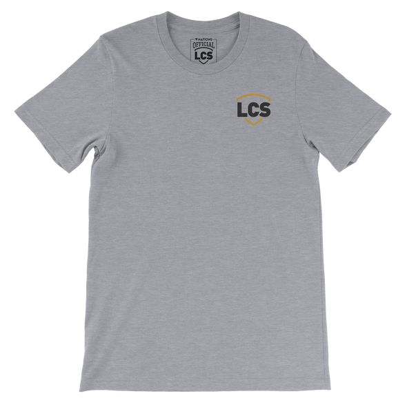 LCS Shield Embroidered Tee - Heather