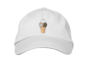 Printed Mixed Flavors Papa Hat - icekream Collection