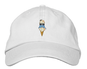 Printed icekream Logo Papa Hat - icekream collection
