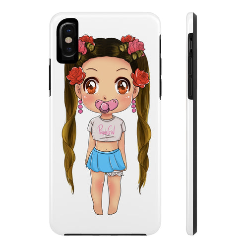 Chewii Phone Case - PapaGirlClub Collection (White)