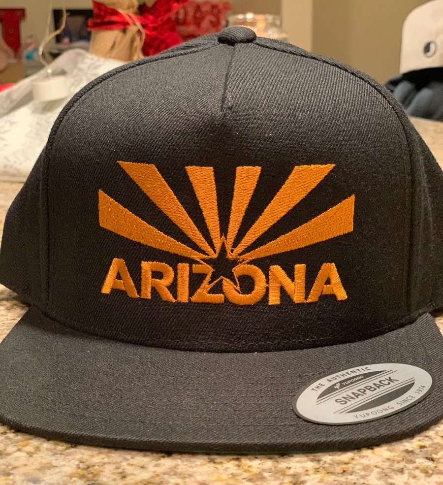 Arizona Copper Flag Hat
