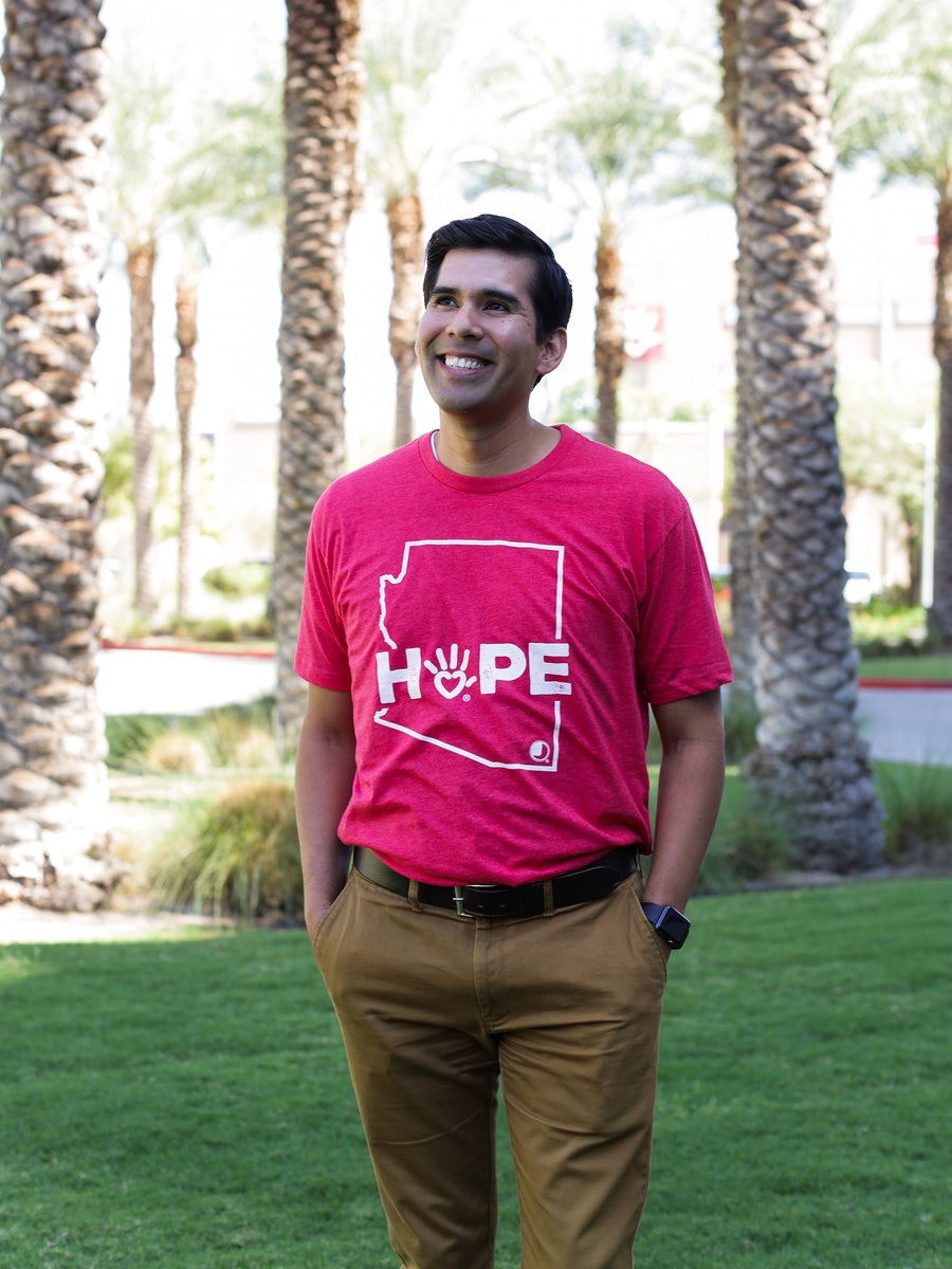 Arizona Hope Tee (Red)