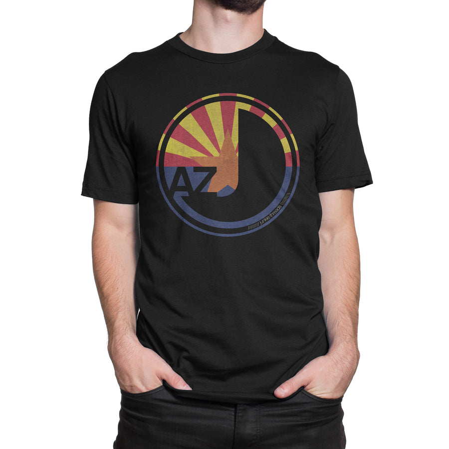 Arizona Flag Logo - Black