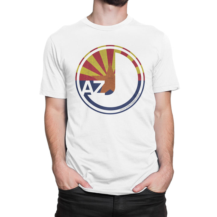Arizona Flag Logo - White