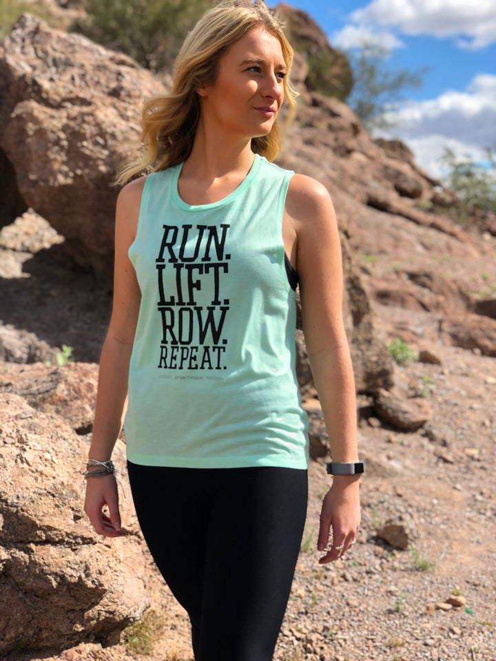 Run Lift Row Tank
