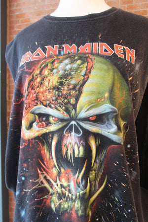 "Iron Maiden ""The Final Frontier"" Muscle Tank (Black)"