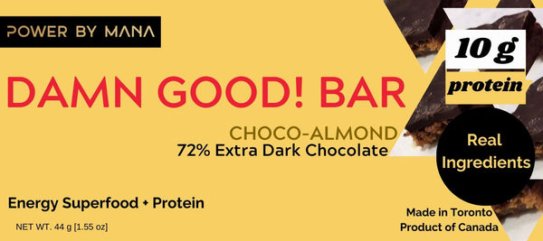 *Limited Time Try One Bar* Damn Good! Bar Choco Almond