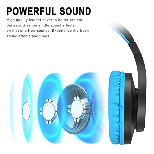 Gaming Headset, Kearui 3 5mm Wired Stereo Sound Over Ear [ One Key Mute ]  Headphones with Noise Isolation Mic for Laptop/Tablet/Mobile  Phones/PS4/Xbox