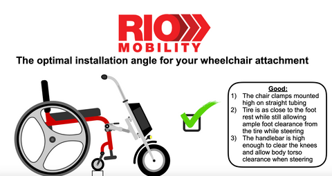 Firefly wheelchair correct position