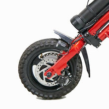 firefly wheelchair dual disc brakes and tire