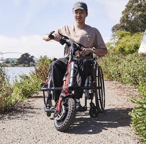 Firefly Wheelchair Handcycle Attachment 2.5 NEW 2020 Model - Rio Mobility