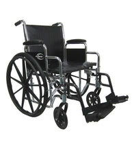 "Bariatric Wheelchairs - Karman KN-920 20"" Seat Heavy Duty Wheelchair With Removable Armrest And Adjustable Seat Height"
