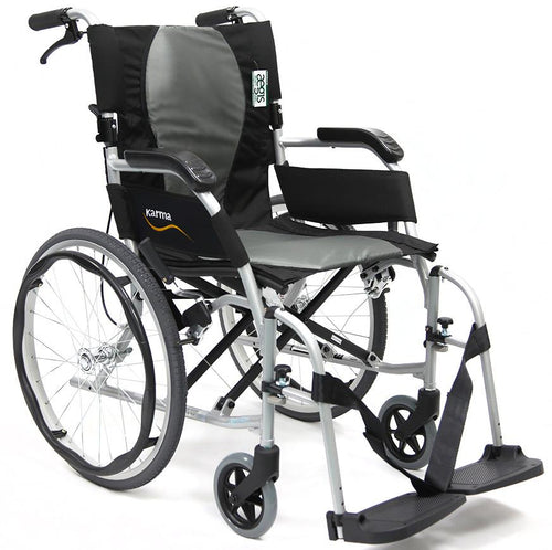 Ergonomic Wheelchairs - Karman Ergo Flight S-2512 Ultra Lightweight Ergonomic Wheelchair