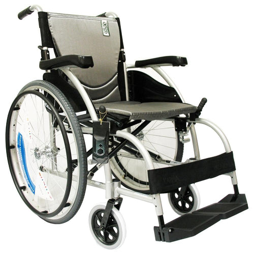 Ergonomic Wheelchairs - Karman S-Ergo 105 Ergonomic Wheelchair With Fixed Footrest