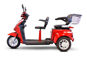 Ewheels EW-66 Two Passenger Heavy Duty Power Scooter - Ships Fully Assembled