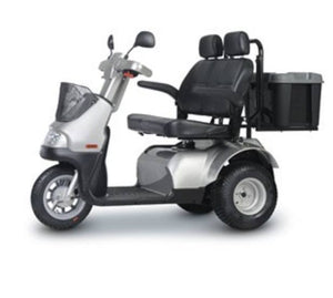 Power Scooter - AFIKIM Afiscooter S3 Breeze 3 Wheel Power Scooter