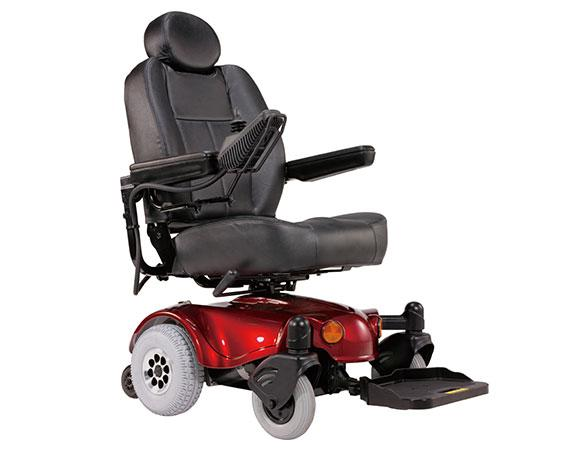 Power Wheelchairs - EV Rider Rumba P4R Power Wheelchair