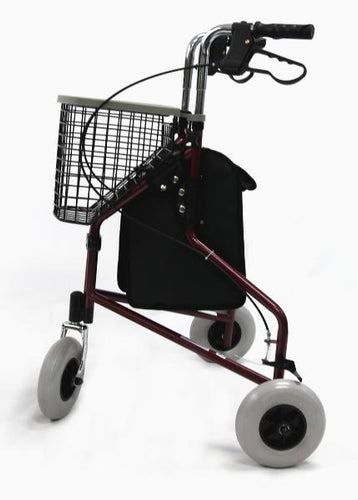 Rollators - Karman R-3600 3 Wheel Rollator With Large 8