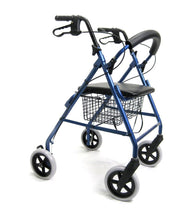 "Rollators - Karman R-4608 Lightweight Rollator With Large 8"" Inch Casters And Padded Seat"