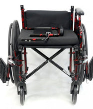 "Standard Wheelchairs - Karman LT-770Q 18"" Lightweight Wheelchair Red Streak"