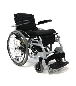 Standing Wheelchairs - Karman XO-101 Manual Push-Power Assist Stand Wheelchair