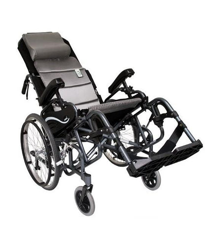 Tilt In Space Wheelchairs - Karman VIP515 Tilt In Space Lightweight Reclining Wheelchair With 20