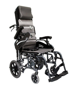 Tilt In Space Wheelchairs - Karman VIP515 Tilt In Space Reclining Transport Wheelchair