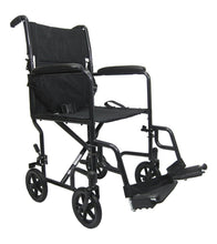 "Transport Wheelchairs - Karman LT-2019 19"" Seat 19 Lbs. Lightweight Transport Chair With Removable Footrest"